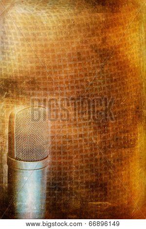 Condenser Microphone Background