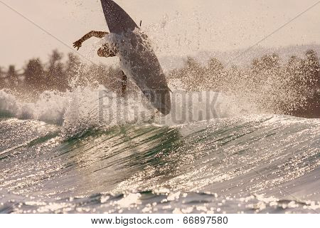 Surfing A Wave