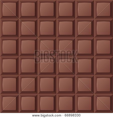 brown chocolate bar seamless ornament