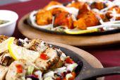 image of paneer  - chicken tikka and paneer tikka combo for family dinner time  - JPG
