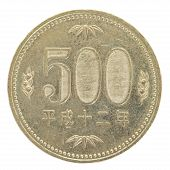 pic of japanese coin  - close  - JPG