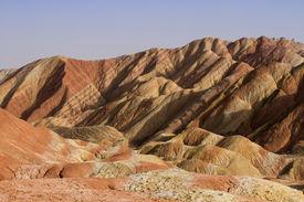 stock photo of landforms  - Landformed geological - JPG