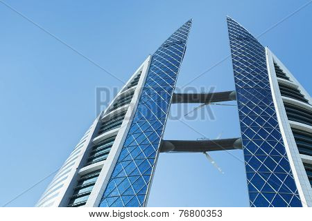 Bahrain World Trade Center Facade, Manama