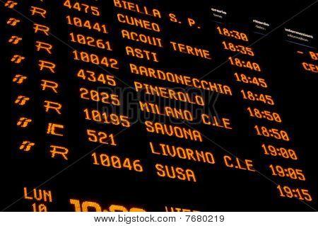 Rail Station Panel