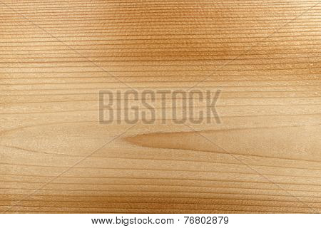 Macro closeup of natural red cedar wood plank woodgrain texture