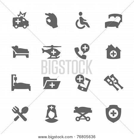 Medical Transportation Icons
