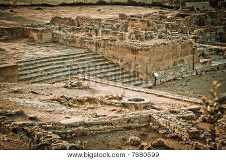 Phaistos Archeological Site