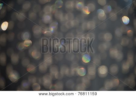 Stormy Gray Sparkle Background