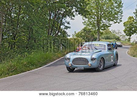 Cisitalia 202 Sc Berlinetta Pinin Farina (1948) In Mille Miglia 2014
