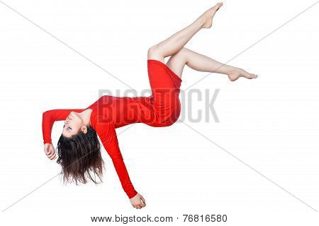 Woman Falls.