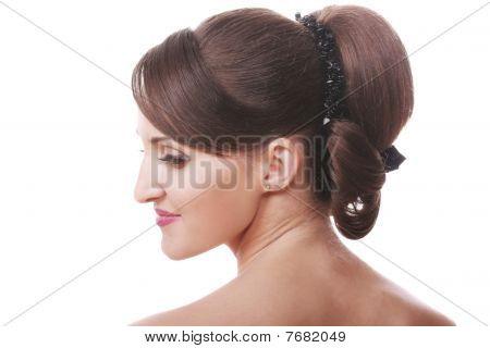 Brunette Head And Shoulders