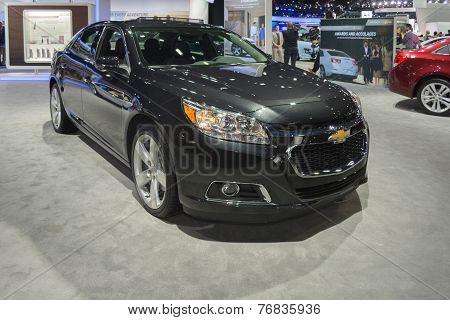 Chevrolet Malibu Ltz 2015 On Display