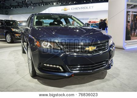 Chevrolet Impala Ltz 2015 On Display