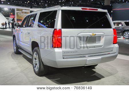 Chevrolet Suburban 2015 On Display