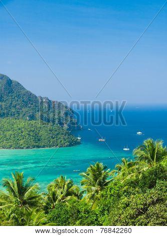 High Viewpoint Vacation Wallpaper