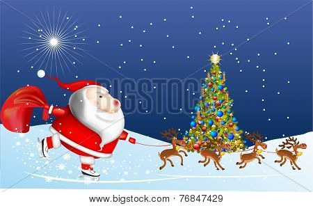 Claus is coming,