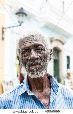 BAHIA, BRAZIL - CIRCA NOV 2014: The famous man called
