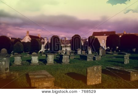 church yard