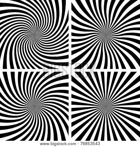 Set of Spiral backgrounds.