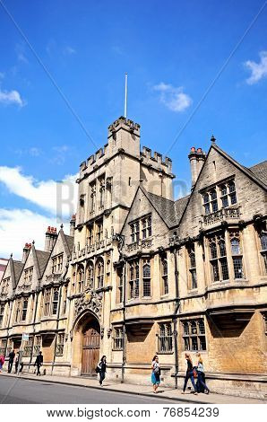 Brasenose College, Oxford.