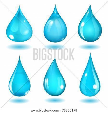 Light Blue Drops
