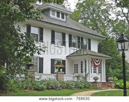 Classic American House