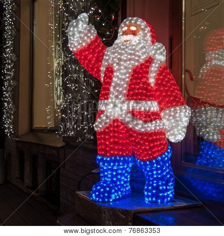 Glowing Santa Claus