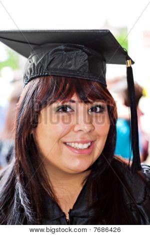 Smiling School Graduate