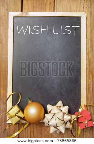 Christmas Wish List