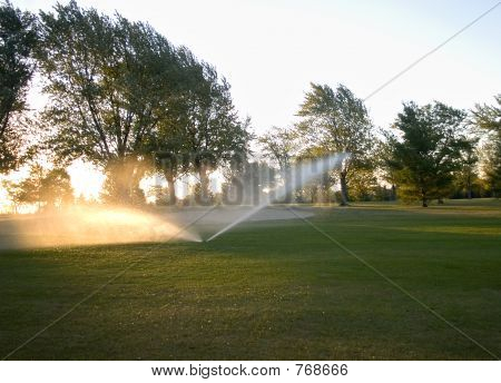 Watering the Golf Course