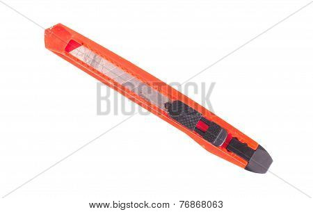 Utility Knife Isolated