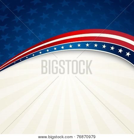 Independence Day patriotic background