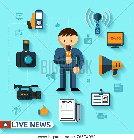 news and mass media