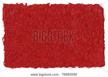 Red Recycled Paper