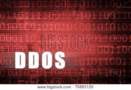 DDOS on a Digital Binary Warning Abstract