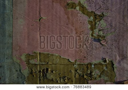 Old Aged Cardboard Paper Grunge Background
