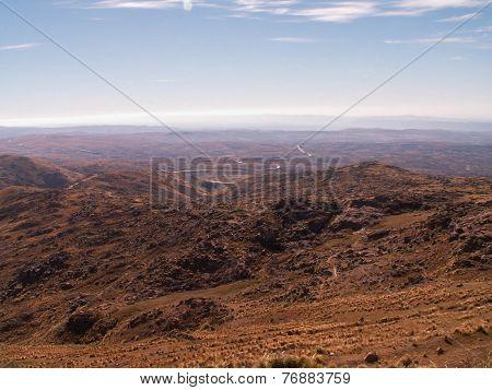 View From Mount Chimborazo