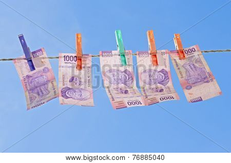 Drying Laundered Money