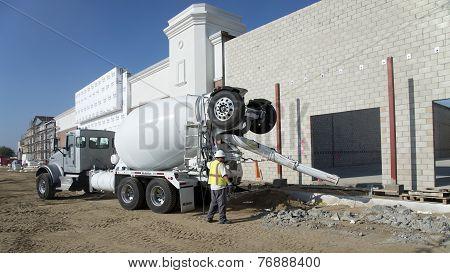 Transit Mix Truck
