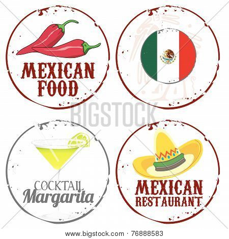 4 stamsp mexican food and drink
