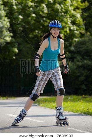 Rollerblade girl I.