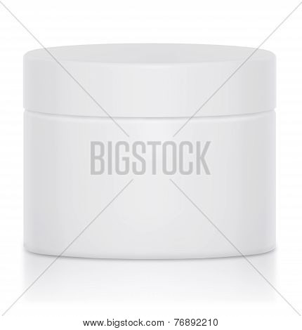 Cream Jar Blank Logo