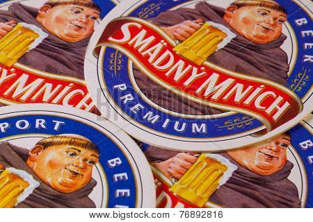 Beermats From Thirsty Monk Beer.