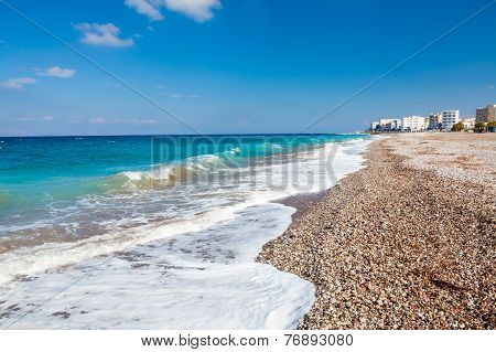Rhodes Beach Greece