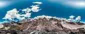 stock photo of cho-cho  - 360 Degrees Panoramic View from Gokyo Ri - JPG
