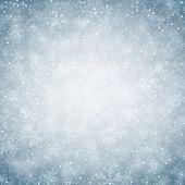 picture of fallen  - Winter background - JPG