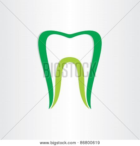 Healthy Teeth Concept Dentist Tooth Symbol