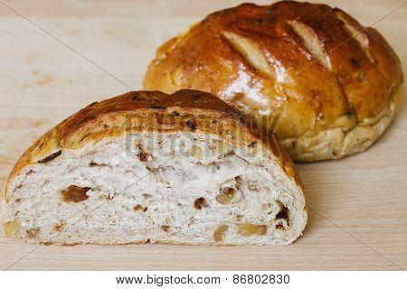 Fresh Whole Grain Bread