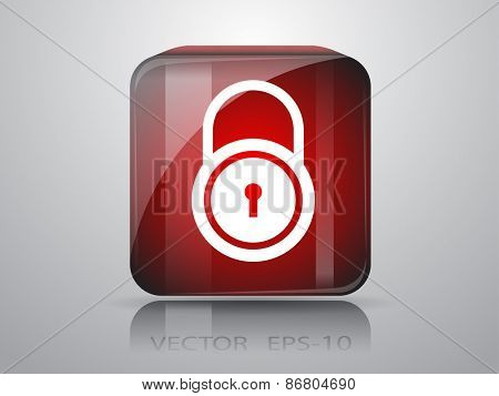 icon of lock