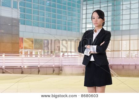 Confident Business Lady